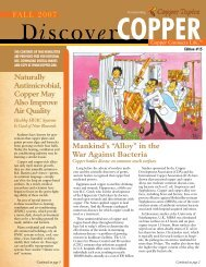 Discover - Copper Development Association