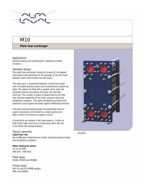 M10 data sheet pdf - Emerson Swan
