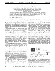 Stable Solid-State Source of Single Photons