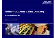 Professor Dr. Andrea E. Raab Consulting - auf den Seiten von Frau ...