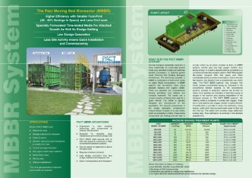 The Pact Moving Bed Bioreactor (MBBR)
