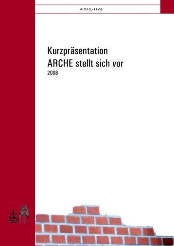 Kurzpräsentation ARCHE stellt sich vor - Arche Neckargemünd