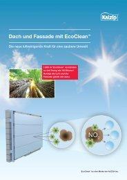 Dach und Fassade mit EcoClean™ - Kalzip