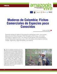 Maderas de Colombia - Revista El Mueble y La Madera