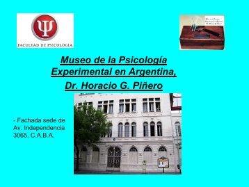 Conociendo el Museo - Facultad de Psicología - Universidad de ...