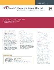 Christina Case Study 060306.qxd - Trapeze Group