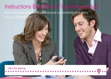 BlackBerry App Instructions - Telephone and web conferences ...