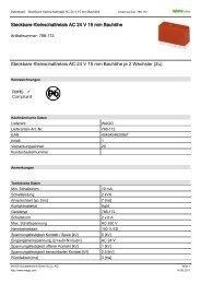 Steckbare Kleinschaltrelais AC 24 V 15 mm Bauhöhe Steckbare ...