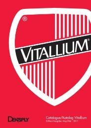 Catalogue/Katalog Vitallium