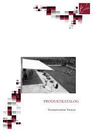 Produktblatt Terrazza einsehen und herunterladen. - Rolf Krebs GmbH