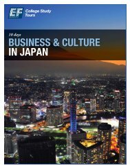 BUSINESS & CULTURE IN JAPAN - EF College Study Tours
