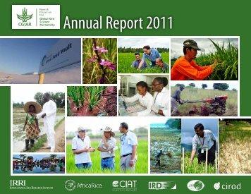 2011 GRiSP Annual Report - Africa Rice Center