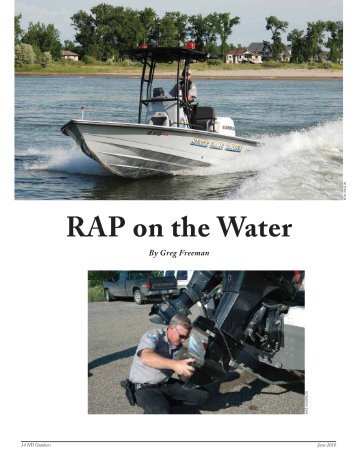 RAP on the Water - North Dakota Game and Fish