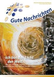 Gute Nachrichten April (PDF, 2,63 MB) - Kirche des Nazareners
