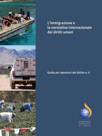 L'immigrazione e la normativa internazionale dei diritti umani Guida ...