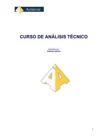Curso de Análisis Tecnico - Actinver
