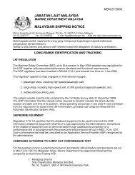 Long-Range Identification And Tracking - Jabatan Laut Malaysia