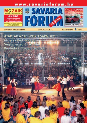 AKCIÓ - Savaria Fórum