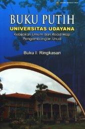Buku Putih Universitas Udayana (Complete Book)