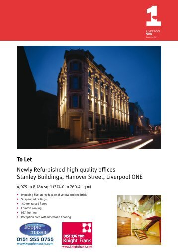 To Let Newly Refurbished high quality offices ... - Keppie Massie