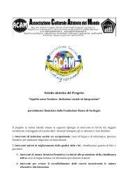 progetto Legalità senza frontiere - ImmigrazioneOggi