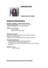 CV Bolivia - Kenes