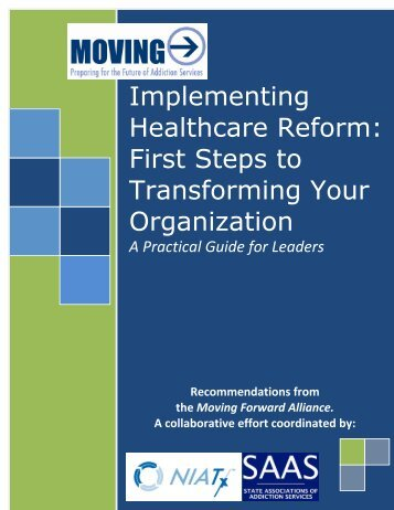 Implementing Healthcare Reform: Taking the First Steps to ... - SAAS