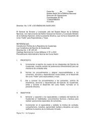 "Directiva No. 3-""B"" - Ministerio de la Defensa de Guatemala"