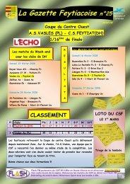 La Gazette Feytiacoise n°25 - Footeo
