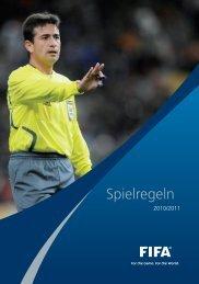 Spielregeln 2010/2011 - FIFA.com
