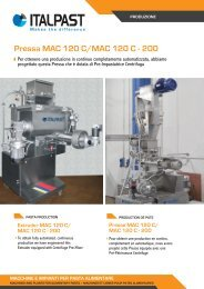 Pressa MAC 120 C/MAC 120 C - 200 - Italpast