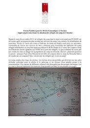 Forum Tunisien pour les Droits Economiques et Sociaux Appel ...