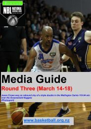 Round Three (March 14-18) - Basketball New Zealand