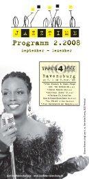 Jazztime Programm Herbst 2008