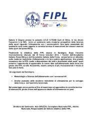Sabato 9 Giugno presso la palestra ASD X-TEAM ... - Powerlifting Italia