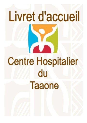 Livret d'accueil français - Centre Hospitalier de Polynésie française