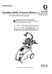 3A1445A - AquaMax 3050E, Pressure Washer, Instructions