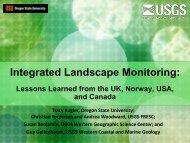 Integrated Landscape Monitoring - USGS Alaska Science Center