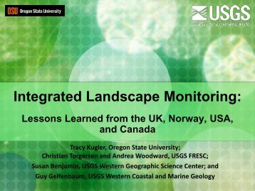 Integrated Landscape Monitoring - USGS Alaska Science Center