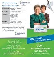 DUO – - Ehrenamt Emsland