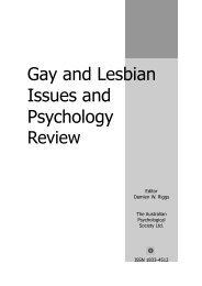 Download Vol. 6, No. 2, 2010 - APS Member Groups - Australian ...