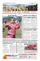 April 4, 2013 PDF Edition - The Sentinel