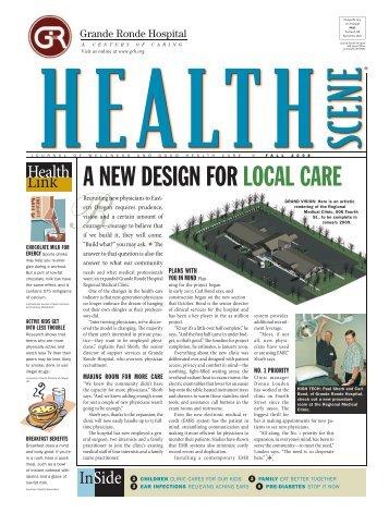Health Scene - Fall 2008 - Grande Ronde Hospital