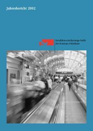 Jahresbericht 2002 - IV-Stelle des Kantons Solothurn