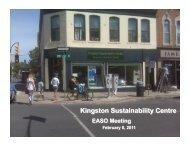 Kingston Sustainability Centr - ESD Canada
