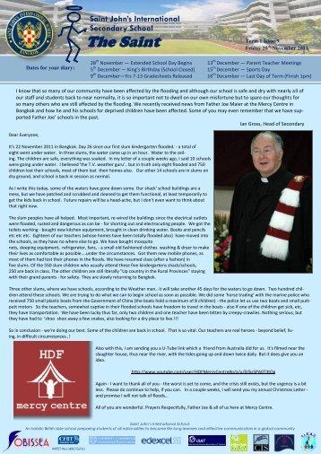 The Saint - Saint John's International School