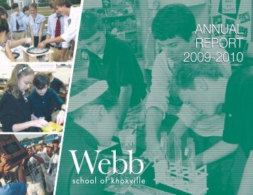 alumni - Webb School of Knoxville