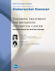 Tailoring treatment for metastatic colorectal cancer - PfizerPro