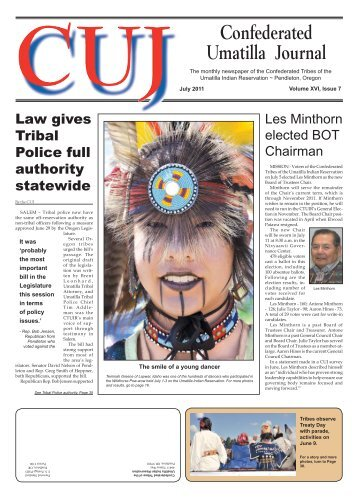 July 2011 CUJ - Confederated Tribes of the Umatilla Indian ...