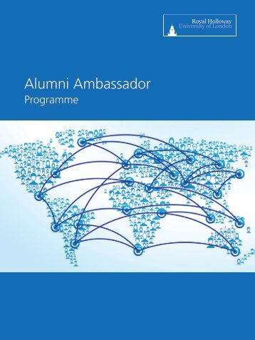 Alumni Ambassador Booklet - Royal Holloway, University of London